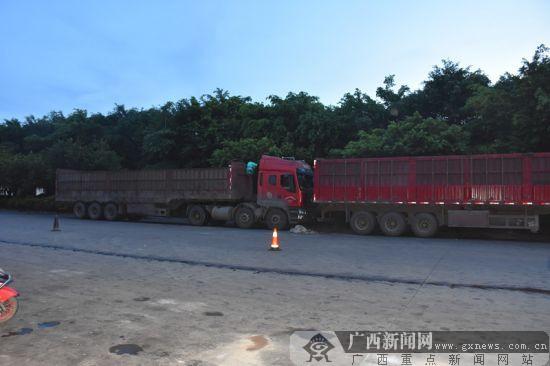 货车无人驾驶突然移动 驾驶员被自己车撞死(图)