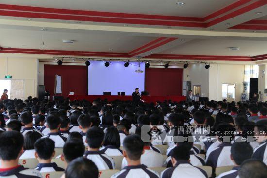 中小学生安全教育日:蒙山交警将安全送入校园