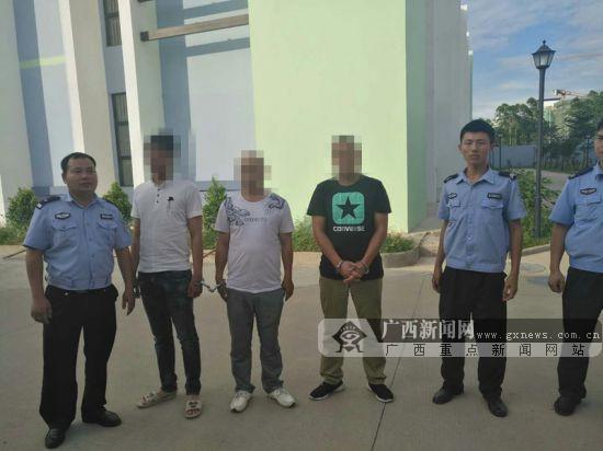 """一日内三人被拘 钦州交警对无证驾驶出""""重拳""""(图)"""
