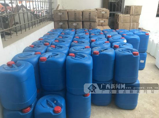 贺州:8名制造、运输百余公斤毒品嫌犯被移送起诉